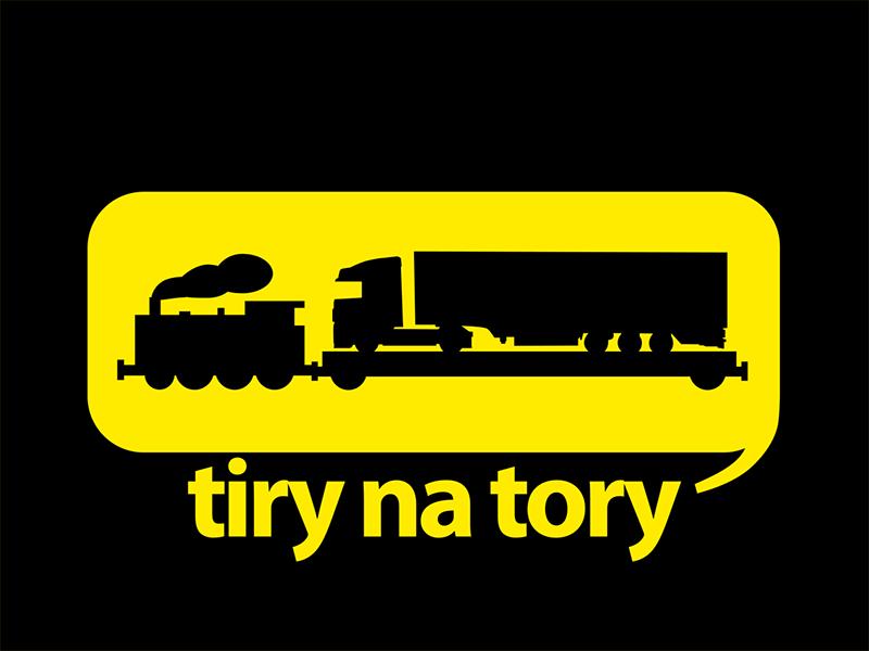 Logo TNT czarne